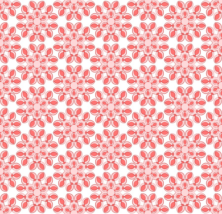 Abstract background or textile pink floral pattern