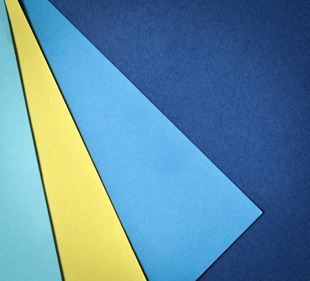 yellow paper: abstract background paper page with blue and yellow colors
