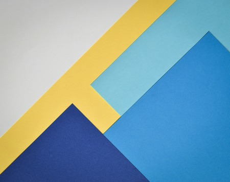 summaries: abstract background paper page with blue and white and yellow colors