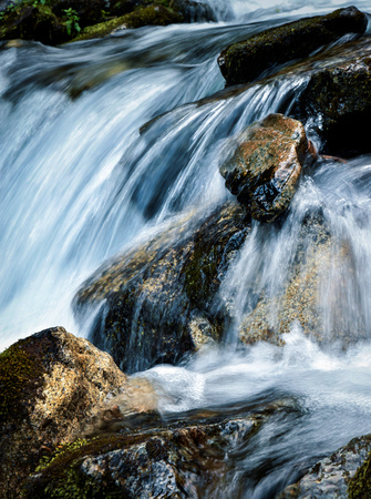 natural background detail wild mountain stream