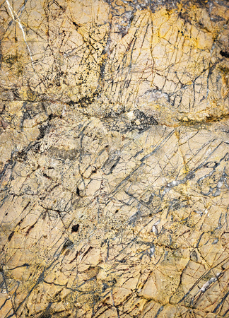 chaotic: abstract background or texture chaotic quartz veins in limestone