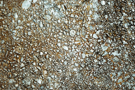 conglomerate: abstract background or texture old  concrete conglomerate Stock Photo