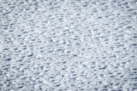 pleated: abstract winter background warm by wind pleated snow Stock Photo