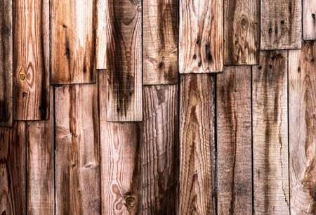 abstract background or texture  wall of wooden boards Stock Photo