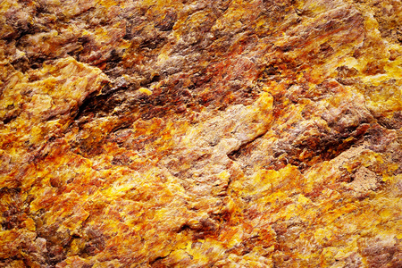abstract background fiery colored mineral mica Stock Photo