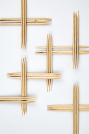 abstract background wooden Toothpicks pattern