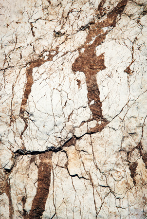 abstract background or texture white limestone clay soil