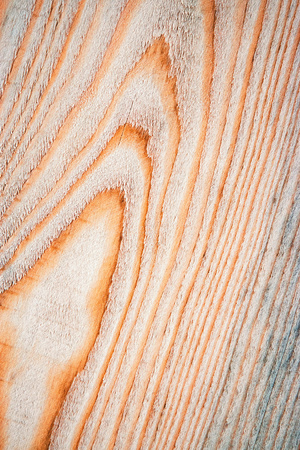 background or texture abstract shape on a wooden spruce board Stock Photo