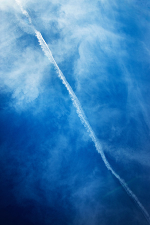 abstract background trace vapors for aircraft engines