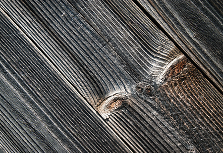 background or texture detail on gray old wooden board