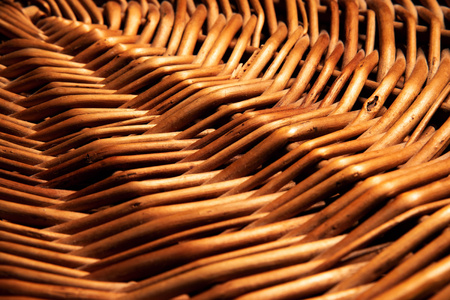 abstract background circle texture wicker basket Stock Photo