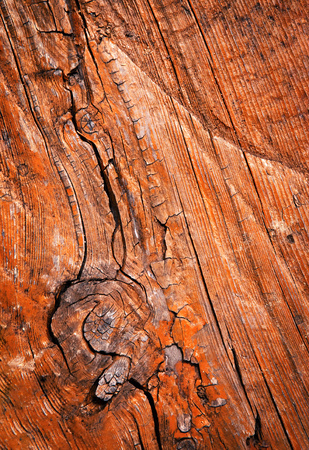 background or texture old wood with colored paint Stock Photo