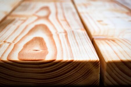 background or texture detail of wooden table edge 写真素材