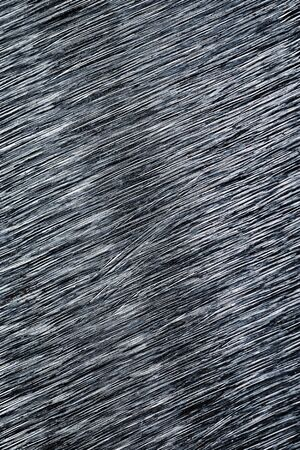 abstract background Detail of thick grooves on brushed iron