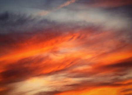nature autumn background Abstract detail of blood red clouds