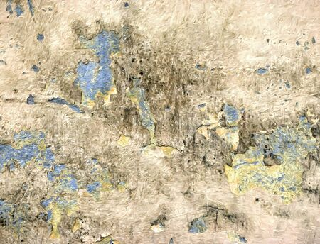 grunge paint Abstract background old colored plaster 写真素材