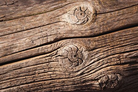 background or texture old weathered brown wooden beam