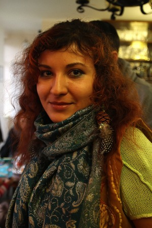 girl in a restaurant photo