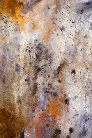dabs: abstract color Backgrounds, painting colage with spots, rust structure.