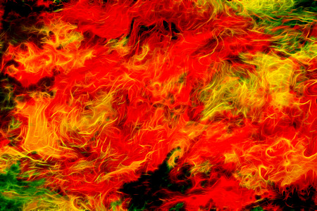 yeloow: abstract color Backgrounds, painting collage, Fire fractal effect, red, yeloow and orange  collage