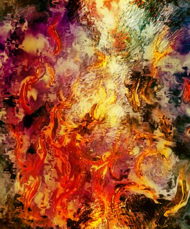 lava: Fire flames background, LAVA structure. Earth Concept