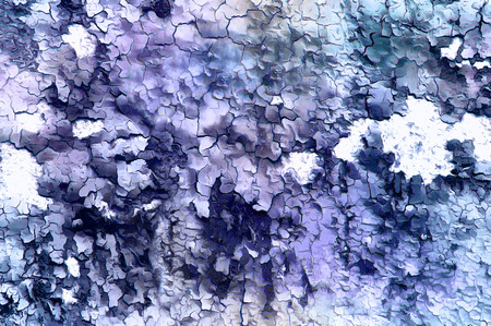 Color abstract background and desert crackle structure