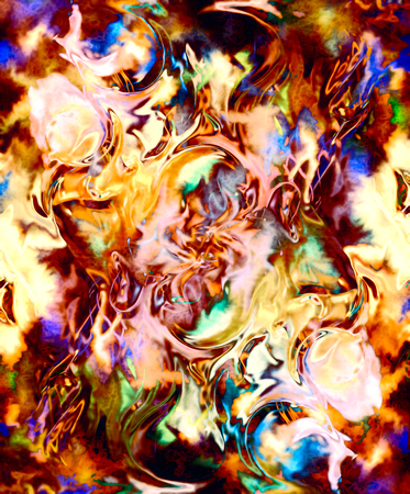 lava: Fire flames background, LAVA structure. Computer collage. Earth Concept Stock Photo
