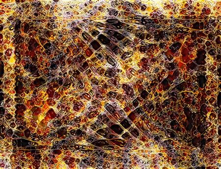 Patroon achtergrond met reflectie. Computer college. Glas en mozaïek effect