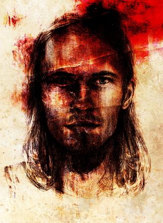 interpretation: interpretation of jesus christ portrait as young man