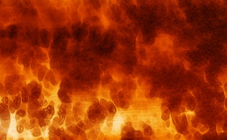 erupt: abstract color background, and lava effect. Orange color Stock Photo
