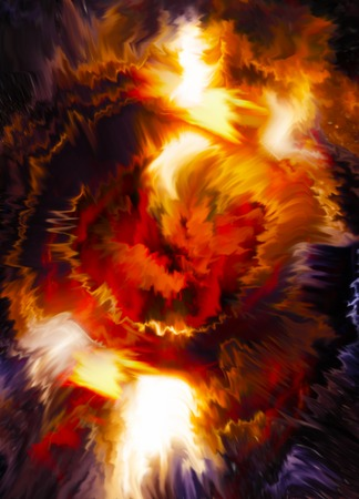 erupt: Color abstract background. Lava structure. Computer collage. Earth Concept