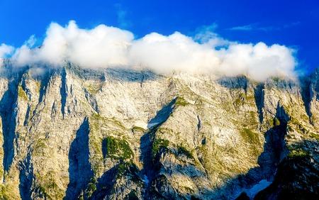 Beautiful alps landscape. Beautiful majestic mountain peaks