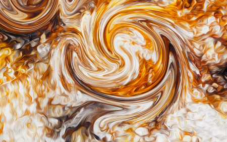 abstract background with swirling movements in elemental structure
