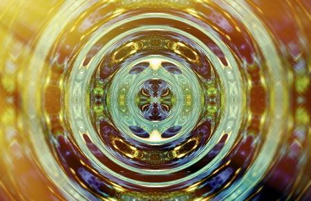 beautiful abstract circle pattern resembling water surface