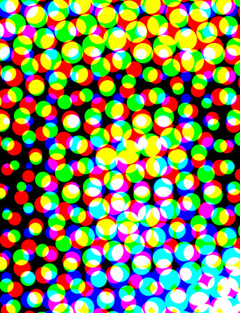 psique: abstract colorful background with motion, dynamic and movement concept. Circle structure Foto de archivo