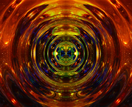 psique: graphic concept of music in space, cosmic sound waves, computer design, music concept. Foto de archivo