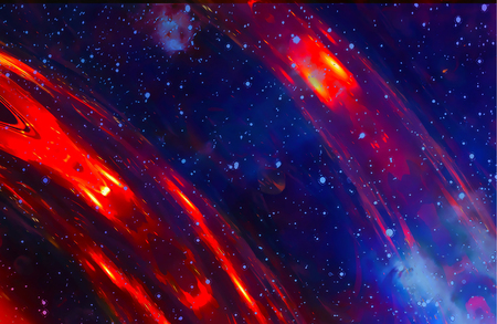 dust cloud: Cosmic space and stars, color cosmic abstract background.
