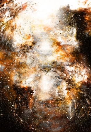 el espacio y las estrellas cósmica, el color del fondo cósmico abstracto. Foto de archivo