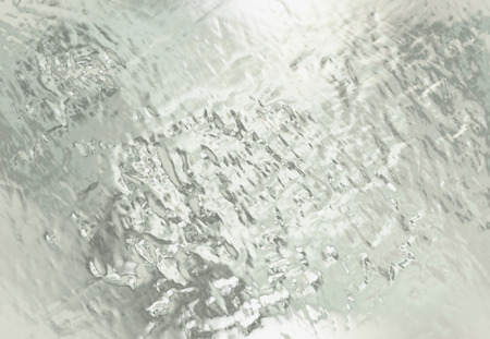 concave: abstract background with silver metalic structure and reflections. Stock Photo