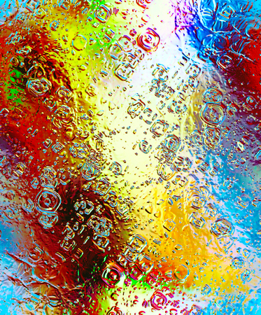 concave: abstract background with metalic and glass structure and reflections. Stock Photo