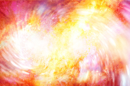 glimpse: abstract background with cosmic energy swirling effect, colorful dynamic movement. Fire effect in space.