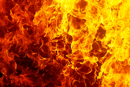 Fire flames background. Original flame and graphic effect.