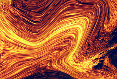 Color abstract background. Lava structure. Computer collage. Earth Concept.