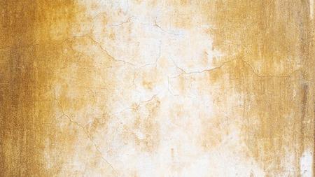 Rock Wall Texture. Ocher background. Crackle wall. Stock Photo