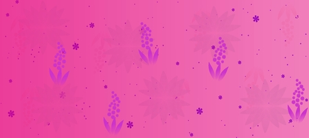 Spring flowers pattern, graphic floral motive. Graphic flowers. Stockfoto - 120370709