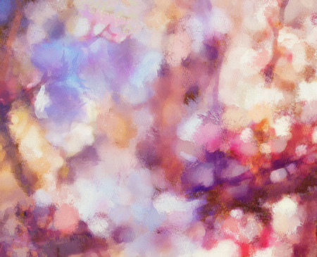 Flower motive, abstract spring background, Pink color structure.