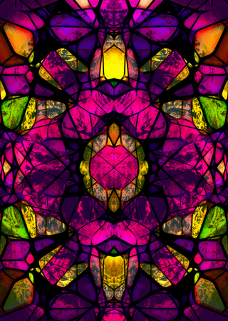 stained glass mosaic structure, color mosaic abstract background.
