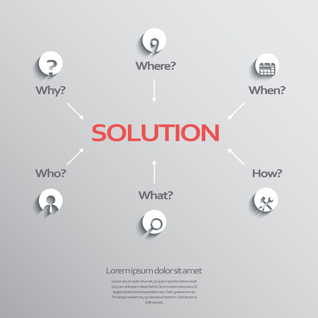 when: Project management business abstract concept.