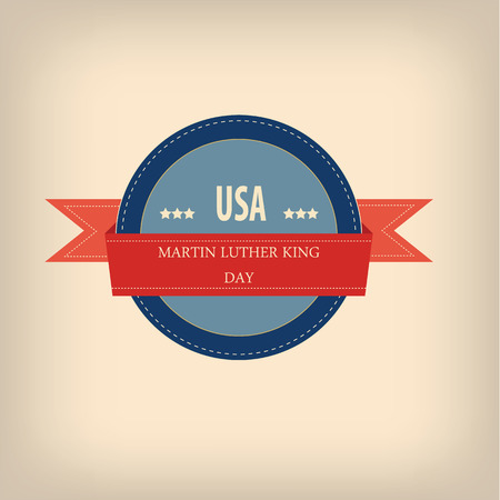 jr: Martin Luther King day badge , flyers, decoration etc.