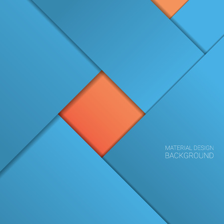 modern wallpaper: Material design background. Simple geometric shapes. 3d layers with shadows. Modern style wallpaper.